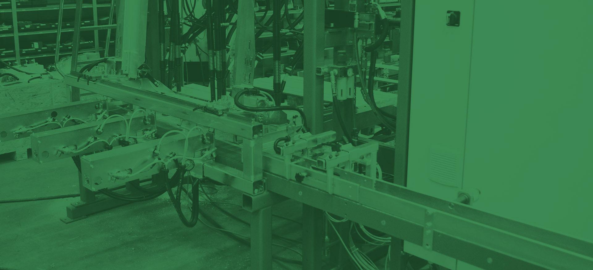 Сборочная машина и линия обработки для поддонов IMH – Czajków